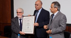 Τιμήθηκε ο πρώτος Επίτροπος Διοικήσεως Νίκος Χαραλάμπους