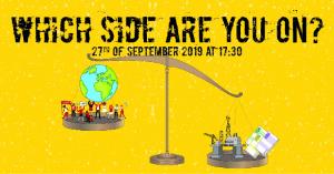 Έξω από το Ανώτατο η διαμαρτυρία για την κλιματική αλλαγή