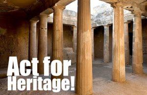 Συνέδριο: Αct for Heritage! 24-26 Οκτωβρίου