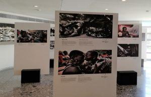 """Έκθεση φωτογραφίας του Διεθνούς Ποινικού Δικαστηρίου στο Ανώτατο: """"Τραύμα, επούλωση και ελπίδα"""" (photos)"""