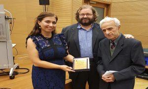 Τιμήθηκε ο πρωτοπόρος της κυπριακής βιβλιοφιλίας κ. Μίκης Μιχαηλίδης
