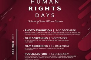 Human Rights Days at UCLan Cyprus