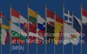 «MFA Internships Call»
