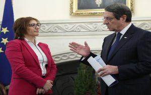 Ο Πρόεδρος της Δημοκρατίας παρέλαβε την ετήσια έκθεση της Επιτρόπου Προστασίας Δεδομένων Προσωπικού Χαρακτήρα