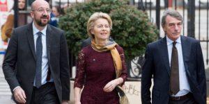 Μια νέα εποχή ξημερώνει για την Ευρώπη: Tο κοινό μήνυμα Φον Ντερ Λάιεν, Μισέλ, Σασσόλι για το Brexit