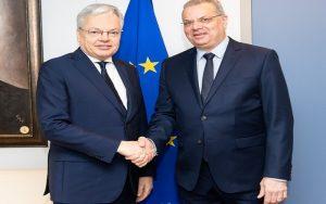 Επαφές  Υπουργού Εσωτερικών στις Βρυξέλλες για  μεταναστευτικό και επενδυτικό πρόγραμμα