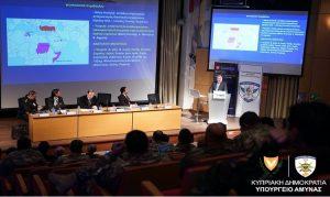 Πραγματοποιήθηκε το συνέδριο «Άμυνα και ασφάλεια μικρών κρατών : Η περίπτωση της Κύπρου»