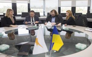 Η Νομική Σχολή του Πανεπιστημίου Λευκωσίας και η Διπλωματική Ακαδημία Ουκρανίας εγκαθίδρυσαν σχέση συνεργασίας (photos)
