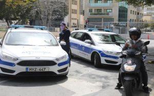 Στις 261 οι καταγγελίες της Αστυνομίας παγκύπρια το 24ωρο για παραβίαση του διατάγματος