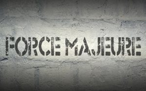 «Force Majeure» και ματαίωση συμφωνίας