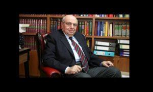 «Έφυγε» από τη ζωή ο Αλέκος Μαρκίδης, πρώην Γενικός Εισαγγελέας της Δημοκρατίας