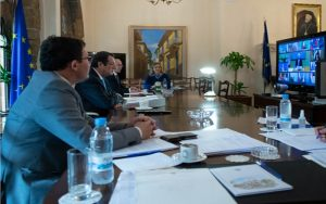 Συμμετοχή του Προέδρου της Δημοκρατίας σε τηλεδιάσκεψη της Συνόδου του Ευρωπαϊκού Συμβουλίου