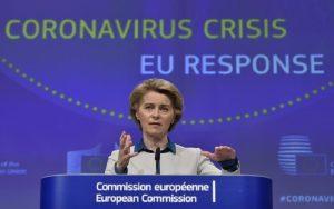Θετική ανταπόκριση της Κομισιόν στην πρόταση Γαλλίας και Γερμανίας για δημιουργία Ταμείου Ανάκαμψης ύψους  500 δισ. ευρώ