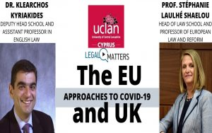 The EU and UK, Approaches to Covid-19 – Συζήτηση με δύο ακαδημαϊκούς
