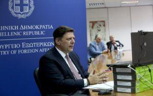ΥΠΕΞ: Ενημερώθηκε για τους στόχους της ελληνικής Προεδρίας της Επιτροπής Υπουργών  του Συμβουλίου της Ευρώπης