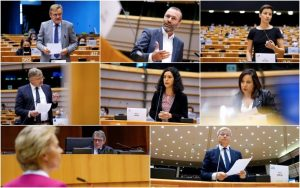 Το διακύβευμα είναι το μέλλον της ΕΕ – Oι πρώτες αντιδράσεις για το πακέτο στήριξης της Κομισιόν