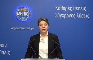 ΔΗΚΟ: Zητά τη συμμετοχή του Γενικού Ελεγκτή ως παρατηρητή στη διαδικασία των κρατικών εγγυήσεων για σκοπούς διαφάνειας