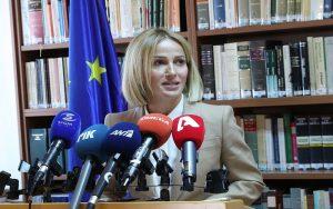 Η Έμιλυ Γιολίτη ανέλαβε επισήμως καθήκοντα ως Υπουργός Δικαιοσύνης και Δημόσιας Τάξης – Διαβάστε την ομιλία της