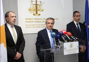 Κ. Κληρίδης: Παραδίδω μια άρτια Νομική Υπηρεσία σε ικανά και στιβαρά χέρια άξιων συναδέλφων – Ολοκληρώθηκε η τελετή (βίντεο)