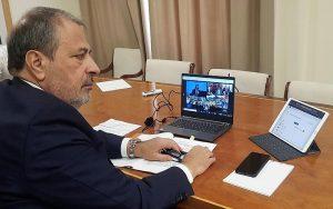 Παρουσίασε τις δράσεις της Κυβέρνησης για την επαναλειτουργία των Δικαστηρίων και τη ψηφιοποίηση της Δικαιοσύνης στους Ευρωπαίους ομόλογους του, ο Υπ. Δικαιοσύνης