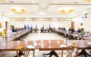 Δηλώσεις Αναπληρωτή Κυβερνητικού Εκπροσώπου μετά τη σύσκεψη του ΠτΔ με κοινωνικούς εταίρους για την επόμενη φάση των Σχεδίων του Υπουργείου Εργασίας