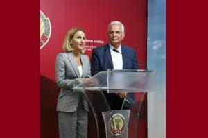 Ανταλλαγή απόψεων Υπουργού Δικαιοσύνης με ΓΓ του ΑΚΕΛ για τη σωστή μεταρρύθμιση