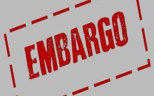 Νομική μάχη κατά των «εμπάργκο» εξήγγειλε το τ/κ εμπορικό επιμελητήριο