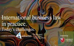 Webinar: International Business law in practice – Today's challenges 🗓