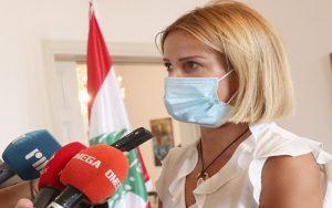 Mηνύμα αλληλεγγύης απέστειλε η Υπουργός Δικαιοσύνης από την κατοικία της Πρέσβειρας του Λιβάνου