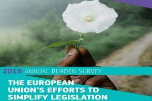 Annual Burden Survey – Διαβάστε την έκθεση με τις προσπάθειες της ΕΕ για απλοποίηση της νομοθεσίας