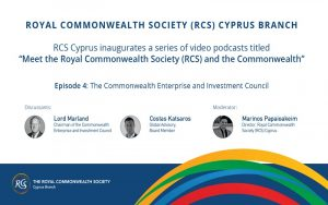 RCS video podcast series Ep. 4: The Commonwealth Enterprise and Investment Council (CWEIC): Challenges and Opportunities