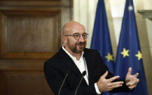 Σ. Μισέλ: Nα τερματιστούν μονομερείς ενέργειες & παραβιάσεις του διεθνούς δικαίου στην Αν. Μεσόγειο