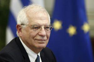 Δευτερολογία Μπορρέλ: Δεν υπάρχει προς το παρόν ομοφωνία για τις κυρώσεις, εργαζόμαστε προς αυτό
