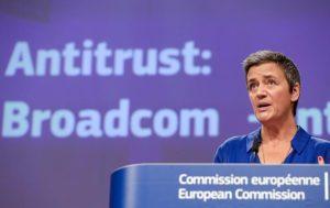 Η Κομισιόν καθιστά δεσμευτική την προσφορά της Broadcom για αποκατάσταση κατάχρησης δεσπόζουσας θέσης