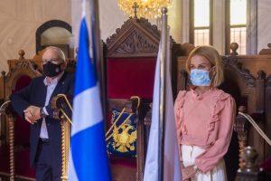 Στην παρουσία της Υπουργού Δικαιοσύνης η Λεμεσός τίμησε την επέτειο της 28ης Οκτωβρίου
