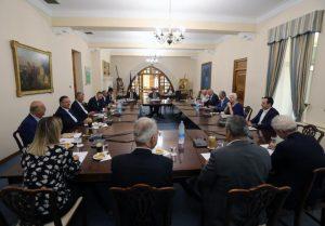 Ο Πρόεδρος ενημερώνει την Τρίτη τα μέλη Εθνικού για αποφάσεις Ευρωπαϊκού Συμβουλίου και εξελίξεις στο Κυπριακό