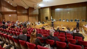 Δίκη Χρυσής Αυγής : Ισόβια για τον Ρουπακιά και 13 χρόνια για τη διευθυντική ομάδα πρότεινε η εισαγγελέας