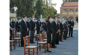 Τέλεση αγιασμού στο Επαρχιακό Δικαστήριο Λευκωσίας για την έναρξη της δικαστικής χρονιάς