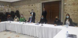 Συνάντηση Φ. Φαίδωνος με το νέο ΔΣ του Δικηγορικού Συλλόγου Πάφου