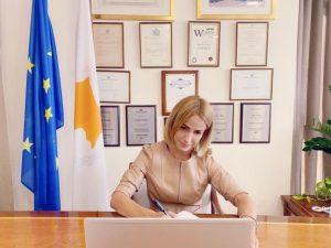 Δήλωση της ΥΔΔΤ κας Έμιλυς Γιολίτη κατά την υπογραφή, με τον Υπουργό Γεωργίας κ. Κώστα Καδή, πρωτοκόλλου για υποθέσεις προστασίας και ευημερίας των ζώων