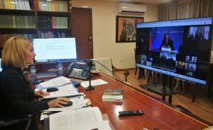 Συμμετοχή της Υπουργού Δικαιοσύνης και Δημόσιας Τάξης στο Άτυπο Συμβούλιο Υπουργών Δικαιοσύνης και Εσωτερικών Υποθέσεων της ΕΕ υπό την Πορτογαλική Προεδρία