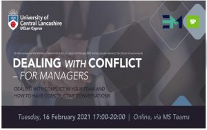 Dealing with conflict – For Managers (Mediation Course) 🗓