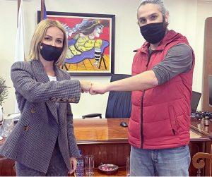 Συναντήσεις της Υπουργού Δικαιοσύνης με τον Βοηθό Αρχηγό, την επικεφαλής του κλιμακίου διερεύνησης υποθέσεων σεξουαλικής κακοποίησης και τον ηθοποιό Αντρέα Φυλακτού