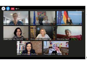 Συμμετοχή της Υπουργού Δικαιοσύνης και Δημόσιας Τάξης σε διαδικτυακή εκδήλωση του Συμβουλίου της Ευρώπης για το χάσμα μεταξύ των φύλων στην ψηφιακή εποχή