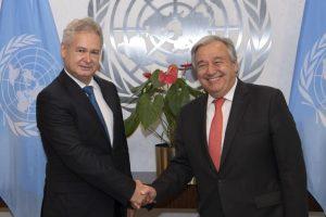 Υποψηφιότητα Α.Μαυρογιάννη για Επιτροπή Διεθνούς Δικαίου των Ηνωμένων Εθνών