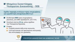 Υλοποίηση του Μνημονίου Συναντίληψης του Υπουργείου Δικαιοσύνης με την ΟΕΒ για την εργοδότηση αποφυλακισθέντων