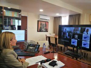 Χαιρετισμός της Υπουργού Δικαιοσύνης και Δημοσίας Τάξεως κας ΄Εμιλυς Γιολίτη στη διαδικτυακή διάλεξη του Παγκύπριου Δικηγορικού Συλλόγου