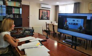 Συμμετοχή της ΥΔΔΤ κας Έμιλυς Γιολίτη σε τηλεδιάσκεψη του ΣτΕ σε συνεργασία με το Γερμανικό Υπουργείο για Θέματα Οικογενειακής Πολιτικής και Γυναικών για τη Σύμβαση της Κωνσταντινούπολης