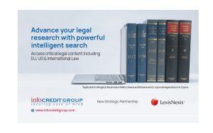 Infocredit Group-LexisNexis (RELX Group): Μια ισχυρή συμμαχία στον τομέα των νομικών υπηρεσιών