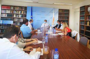 Συνάντηση της Υπουργού Δικαιοσύνης κας Στέφης Δράκου με τον Πρόεδρο και τα Μέλη της Επιτροπής Δεοντολογίας και Προστασίας του Αθλητισμού